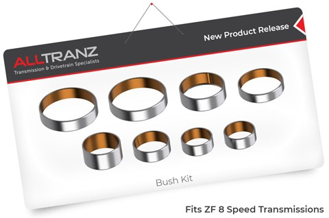 Bush Kit for ZF 8 Speed Transmissions, part # 121401K