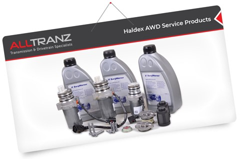 Haldex AWD Service Products