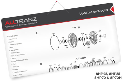 Updated catalogue - 8HP Transmissions